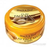 Black & Red Argan Yağlı Killi Yüz Maskesi