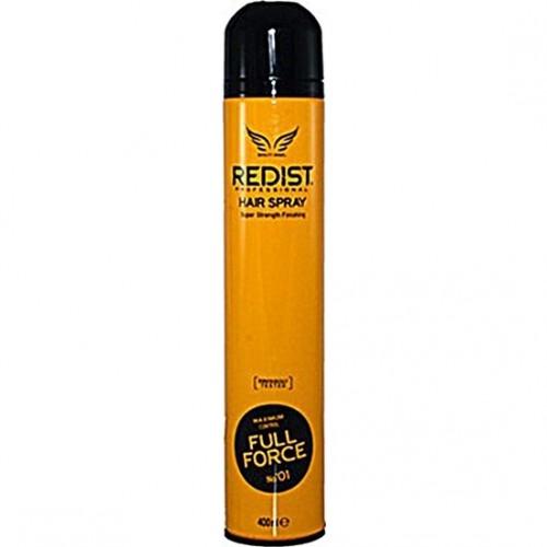 Redist Full Force Saç Spreyi 400 ml - Sarı