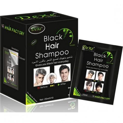 Dexe Siyah Saç Boya Şampuan 10 Adet
