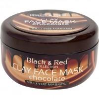 Black & Red Yüz Maskesi Chocolate