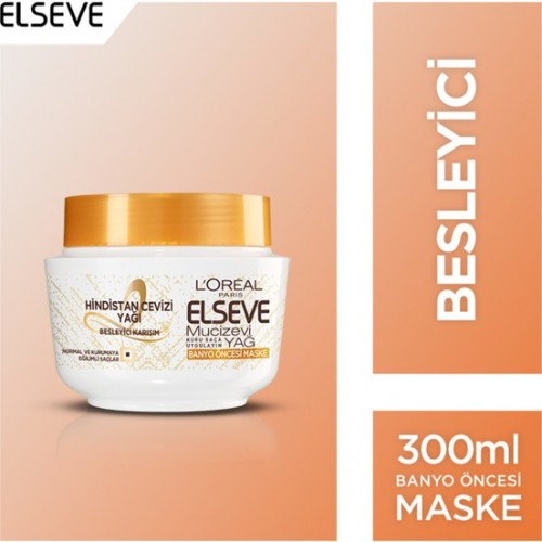 Loreal Paris Elvive Extraordinary Oil Coconut Hair Mask 300 Ml