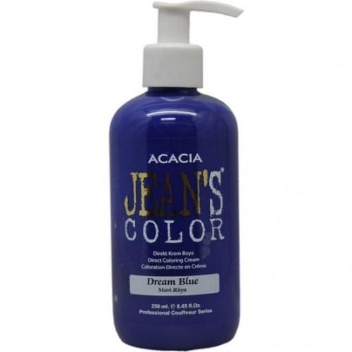 Jeans Color Su Bazlı Amonyaksız Saç Boyası Dream Blue Mavi Rüya