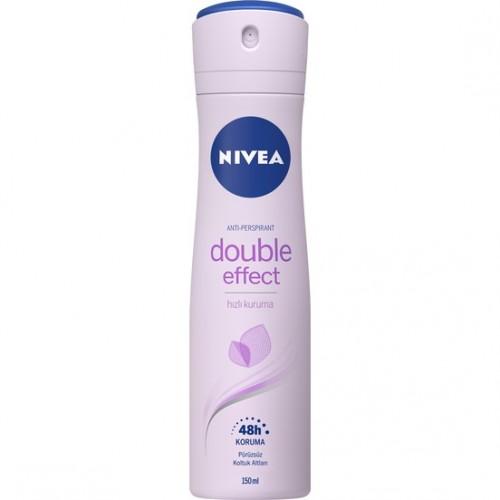 Nivea Double Effect Mor Düşler Sprey Deodorant 150Ml Kadın