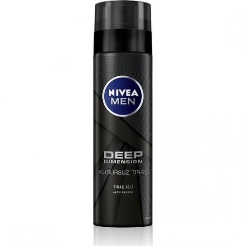 Nivea Men Deep Dimension Tıraş Jeli 200Ml