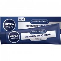 Nivea Protect & Care Tıraş Kremi 100Ml